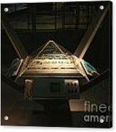 Mission Control Center Acrylic Print by Yali Shi