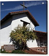 Mission Francisco Solano - Downtown Sonoma California - 5d19298 Acrylic Print by Wingsdomain Art and Photography