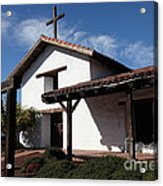 Mission Francisco Solano - Downtown Sonoma California - 5d19300 Acrylic Print by Wingsdomain Art and Photography