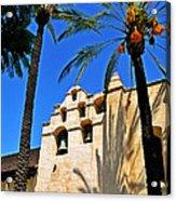 Mission San Gabriel Arcangel Acrylic Print by Lyle  Huisken