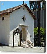 Mission San Rafael Arcangel Chapel Acrylic Print by Methune Hively