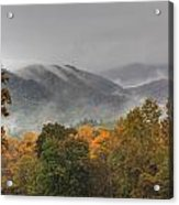 Misty Morning Iv Acrylic Print by Charles Warren
