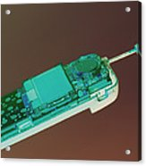 Mobile Telephone Acrylic Print by Tek Image