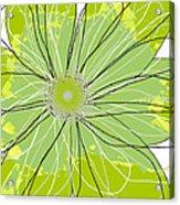 Moda Flower Mix I  Acrylic Print by Ricki Mountain