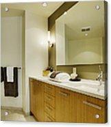 Modern Bathroom Interior Acrylic Print by Andersen Ross