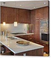 Modern Kitchen Interior Acrylic Print by Andersen Ross