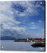 Molde Acrylic Print by Chad Bromley