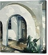Mombasa Archway Acrylic Print by Stephanie Aarons