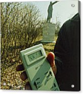 Monitoring Fallout Levels From Chernobyl. Acrylic Print by Ria Novosti