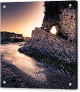 Montana De Oro After Sunset Acrylic Print by Matt  Trimble