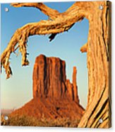 Monument Valley Acrylic Print by Jane Rix