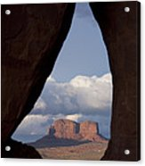 Monument Valley, Usa Acrylic Print by John Burcham