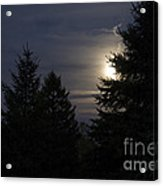 Moon Rising 01 Acrylic Print by Thomas Woolworth