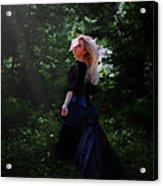 Moonlight Calls Me Acrylic Print by Nikki Marie Smith