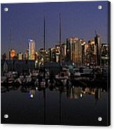 Moored For The Night Acrylic Print by Will Borden