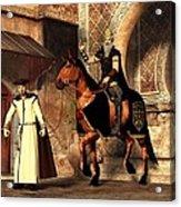 Mordechai And Haman Acrylic Print by Daniel Eskridge