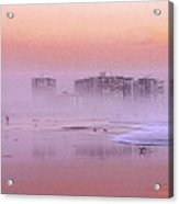 Morning At The Beach Acrylic Print by Stefan Kuhn