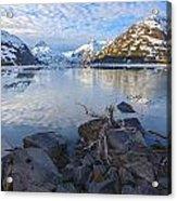 Morning Light At Portage Lake Acrylic Print by Tim Grams