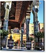Morocco Architecture II Acrylic Print by Chuck Kuhn