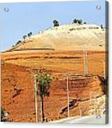 Morocco Landscape I Acrylic Print by Chuck Kuhn