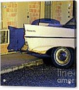 Motel Notell Acrylic Print by Joe Jake Pratt