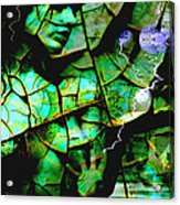 Mother Earth Acrylic Print by Yvon van der Wijk