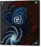 Mother Universe Acrylic Print by Lisa Orban