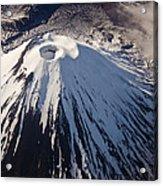 Mount Ngauruhoe Tongariro Np New Zealand Acrylic Print by Colin Monteath