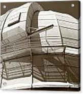 Mount Wilson Observatory Acrylic Print by Lorraine Devon Wilke