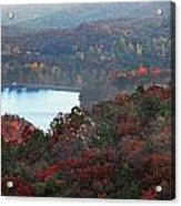 Mountain Lake Acrylic Print by Michael Waters