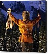 Mountain Man 1 Acrylic Print by Bob Christopher