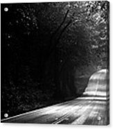 Mountain Road II Acrylic Print by Matt Hanson