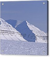 Mountains Above Kings Glacier Acrylic Print by Gordon Wiltsie