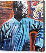 Mr. Nelson Mandela Acrylic Print by Juergen Weiss