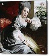 Mrs Clark Gayton Acrylic Print by John Singleton Copley
