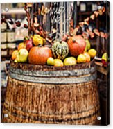 Mulled Wine Acrylic Print by Heather Applegate