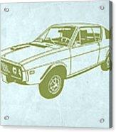 My Favorite Car 2 Acrylic Print by Naxart Studio