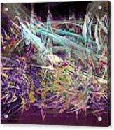 My Symphony Acrylic Print by Linda Sannuti