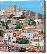 My Town  Acrylic Print by Eric Kempson