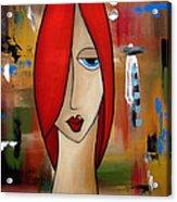 My Way By Fidostudio Acrylic Print by Tom Fedro - Fidostudio