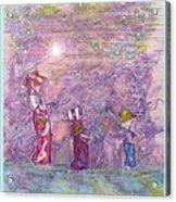 Mystical Stroll Acrylic Print by Ray Tapajna