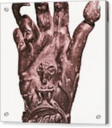 Mythological Hand Acrylic Print by Photo Researchers