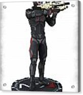 N7 Soldier V1 Acrylic Print by Frederico Borges