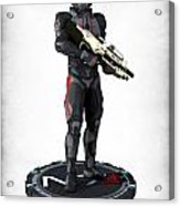 N7 Soldier V2 Acrylic Print by Frederico Borges