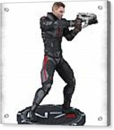 N7 Soldier V3 Acrylic Print by Frederico Borges