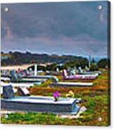 Narooma Cemetery Acrylic Print by Joanne Kocwin