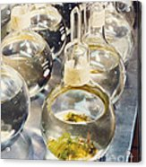 Nasa Experiment Acrylic Print by Science Source