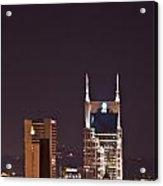 Nashville Cityscape 6 Acrylic Print by Douglas Barnett