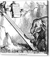 Nast: Third Term, 1875 Acrylic Print by Granger