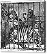 Nast: Tweed Cartoon, 1871 Acrylic Print by Granger